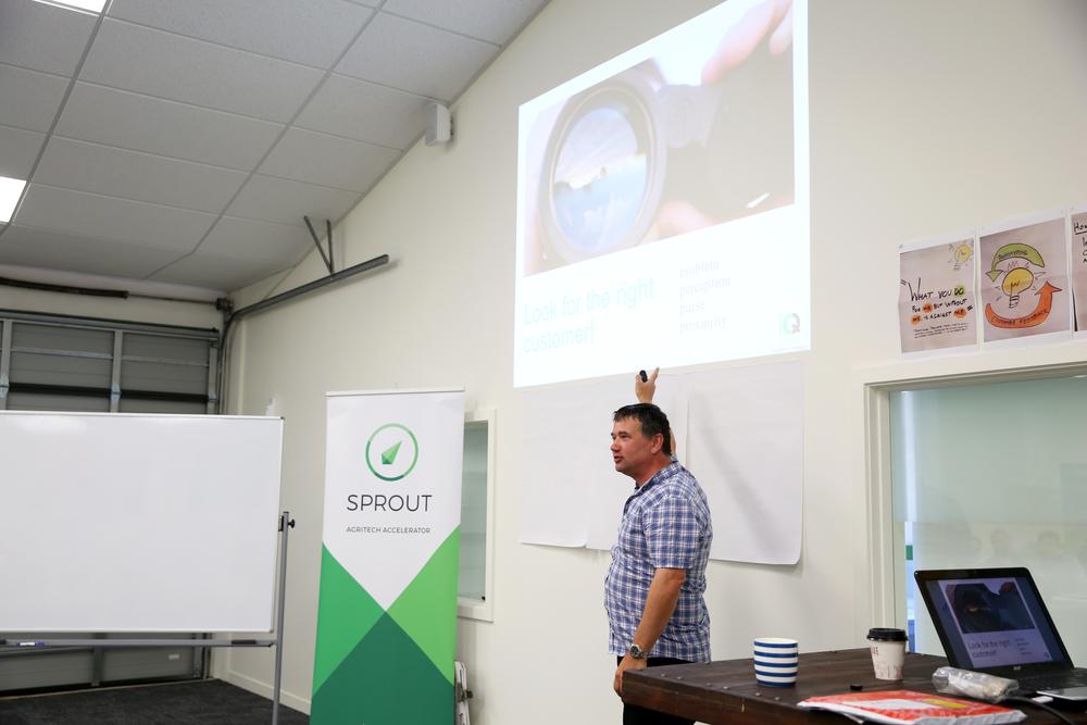 Richard Alderton, CEO of Seadragon, presenting on Value Pricing.