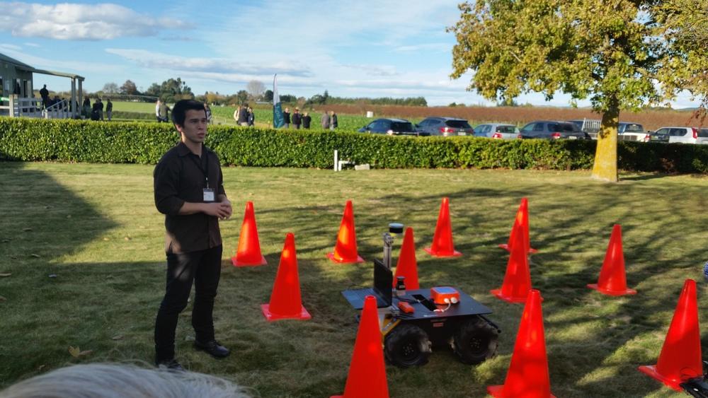 Auckland University's robot