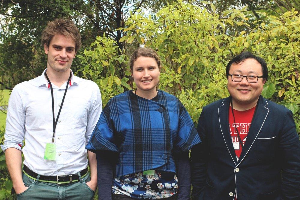 Mike Barton, Kelsea Morrow, Fan Zhang