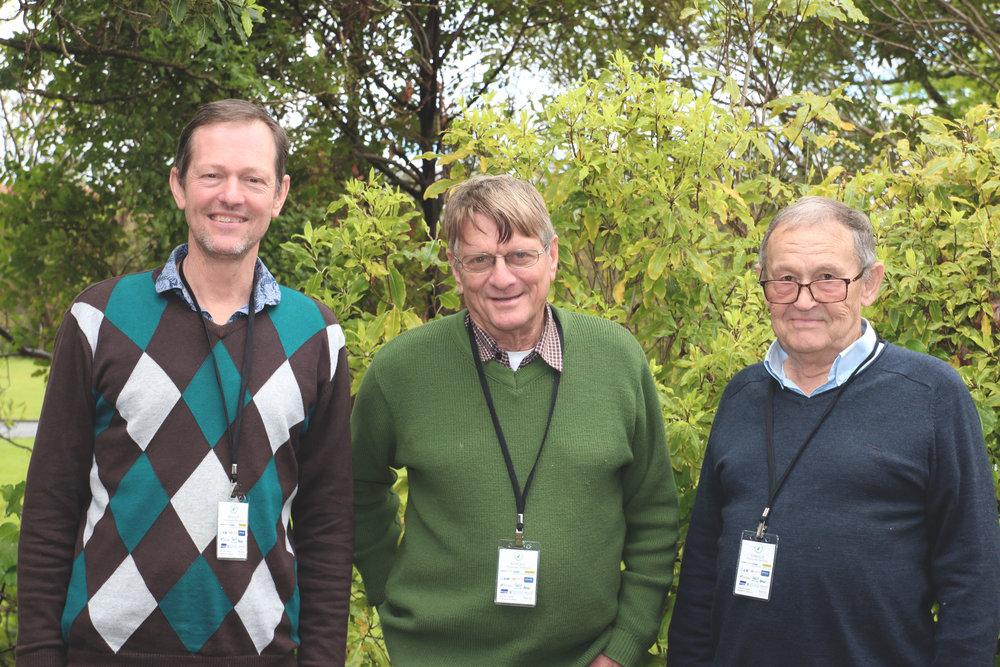 Tony Perthaner, Mike Seawright, Denis Packer