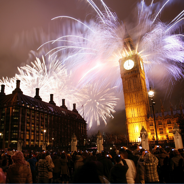 Mayor of London's NYE Display