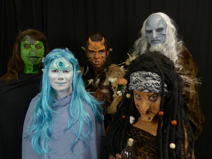 Monster Makeup FX 101 May 2015 Student Final Group.jpg