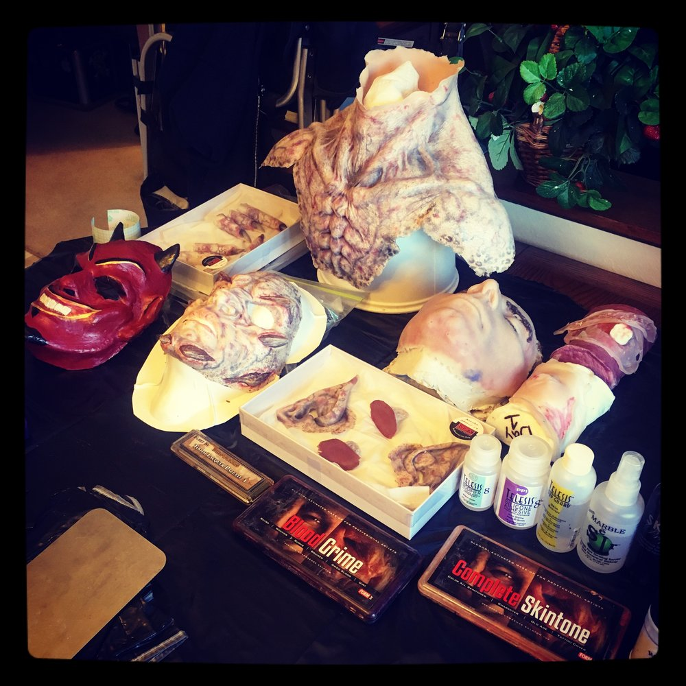Special Effects Makeup Kit Setup Come To Me Sister Mary Monster Makeup FX.jpg
