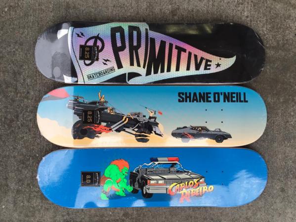 Shane O Neill Amp Carlos Ribeiro S New Pro Model Decks From