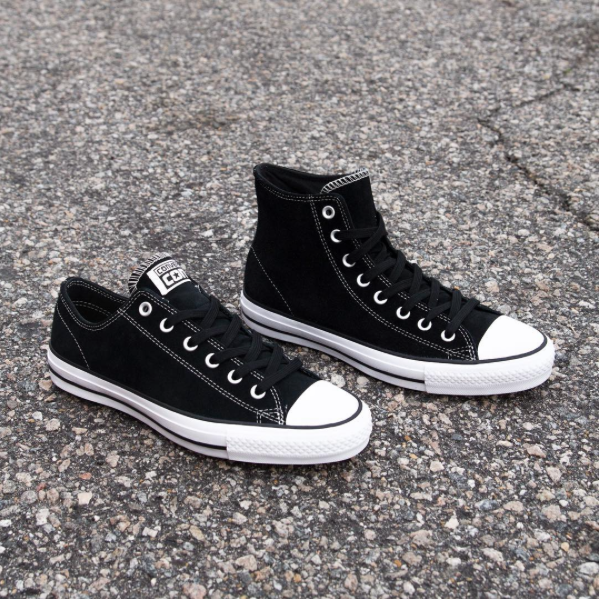 9bc3cf790dc7a1 Converse CTAS Pro Low Hi in Black White Suede Now Available — Skate ...