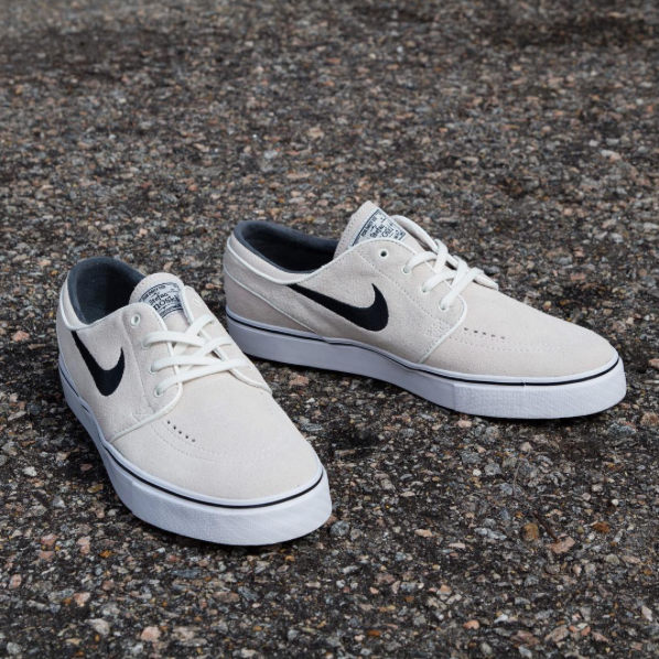 Nike SB Zoom Stefan Janoski Summit White/ Black-White