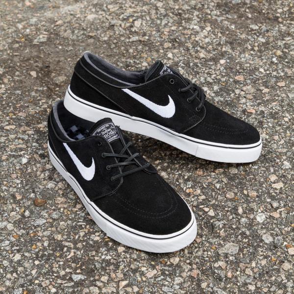 f89d85acafe4 The OG Nike SB Stefan Janoski in Black White Now Available — Skate ...