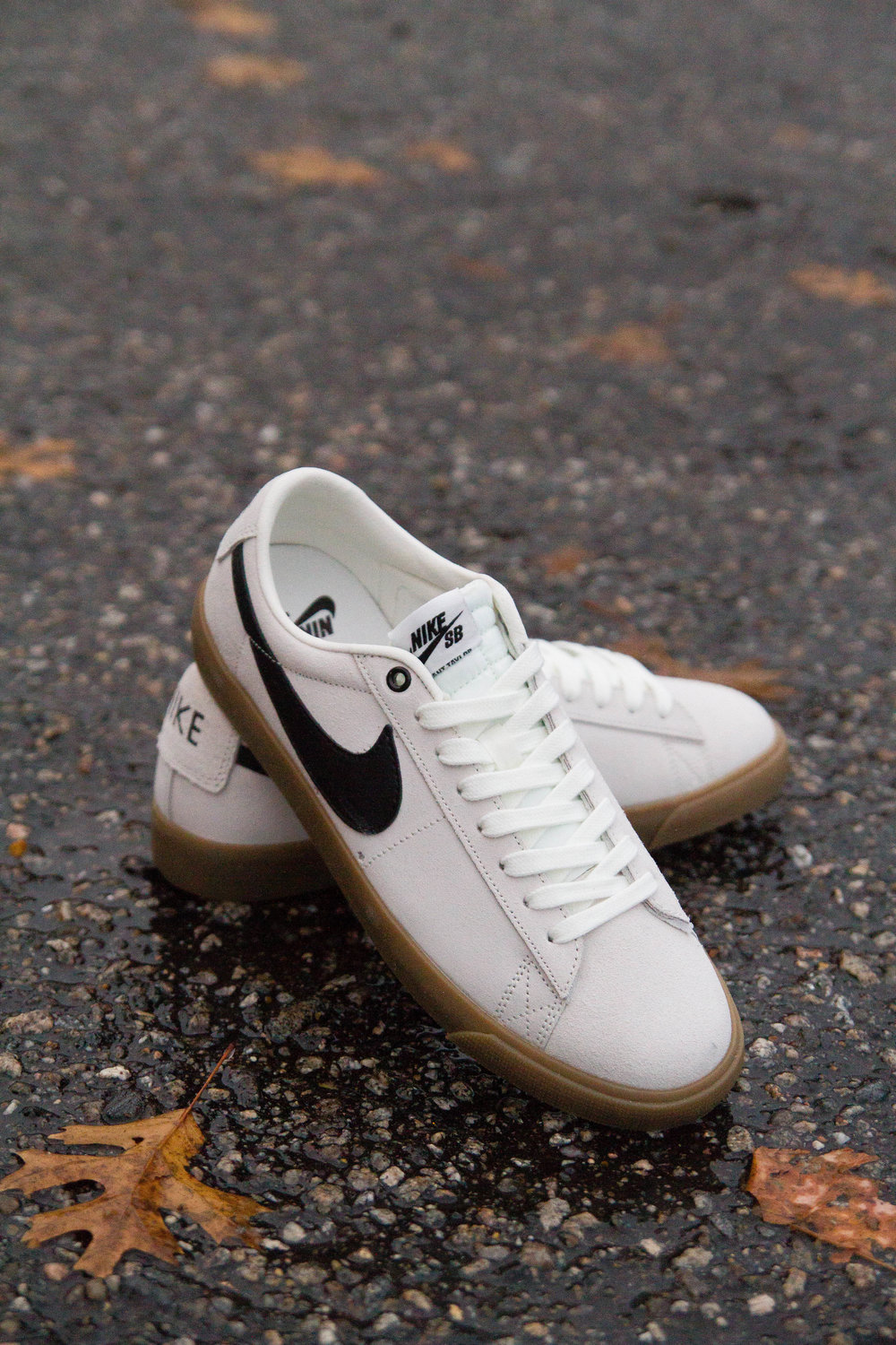 Nike SB Blazer Low GT in Ivory/Black/Gum Now Available