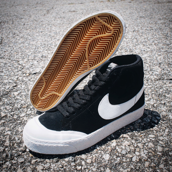 c2d34970a694 NIKE SB Blazer Mid XT in Black White Now Available — Skate Supply