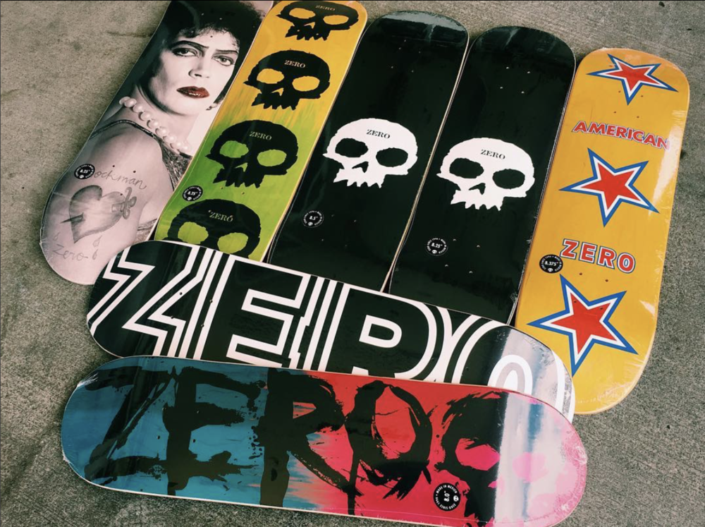 0480243a0b2 NEW WOOD FROM ZERO SKATEBOARDS — Skate Supply