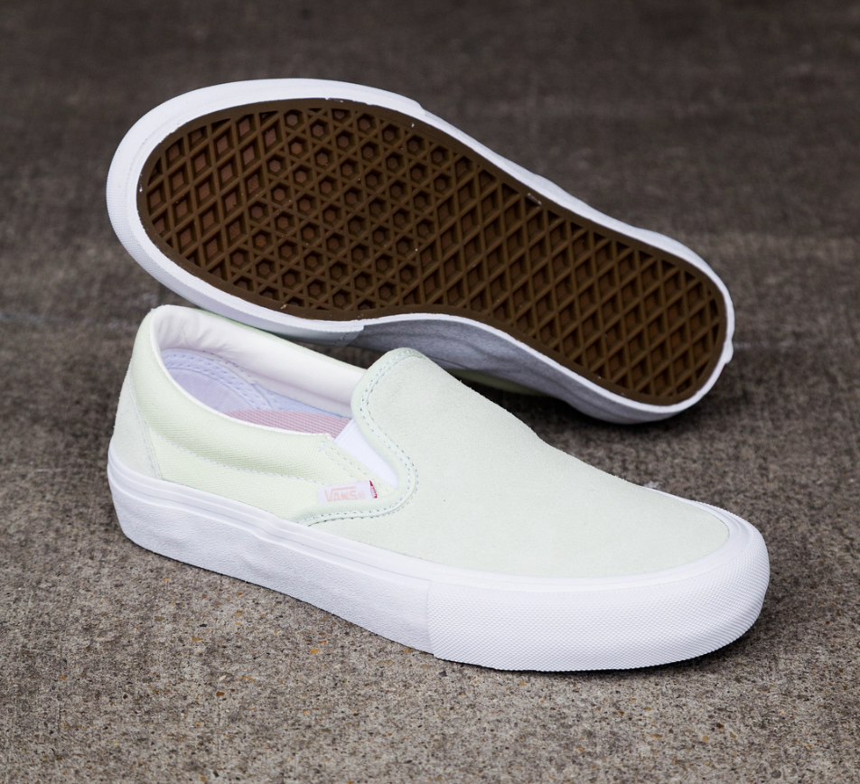 e7d1a66783 VANS SLIP-ON PRO IN AMBROSIA WHITE NOW AVAILABLE — Skate Supply