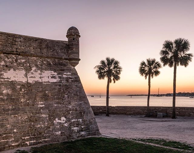 Sunrise @ Castillo de San Marcos in Saint Augustine, Florida