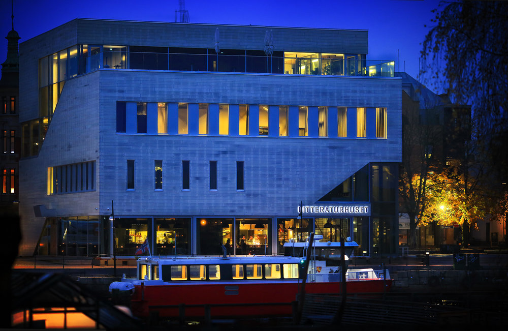LITTERATURHUSET FREDRIKSTAD   Høsten 2017    SE PROGRAMMET