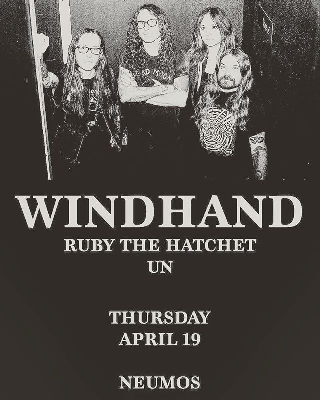 Seattle: Just a few more days til our show with @rubythehatchet and @un.vibes at @neumos_ .