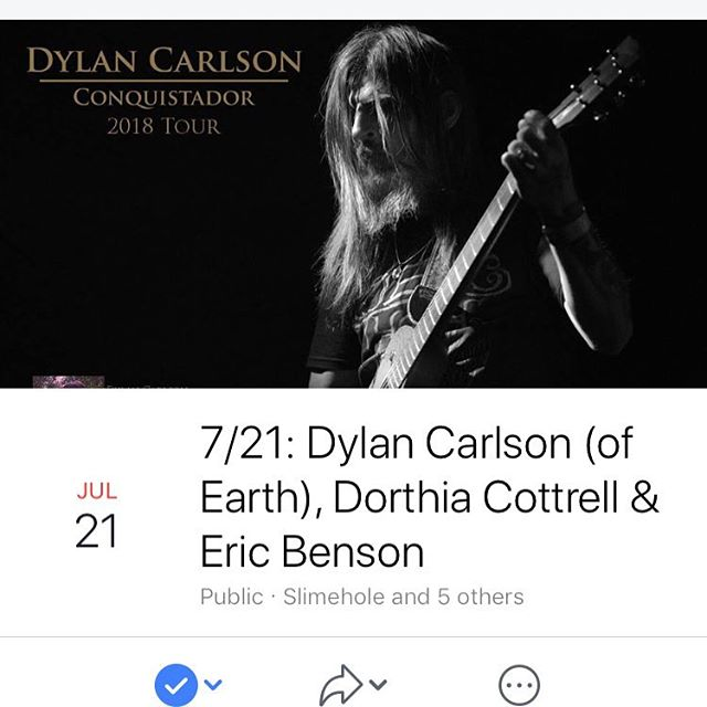 Hey Richmond! Dorthia is playing a solo set tomorrow night Saturday July 21 @capitalalehouse with Dylan Carlson @drcarlsonalbion. Doors are at 7pm