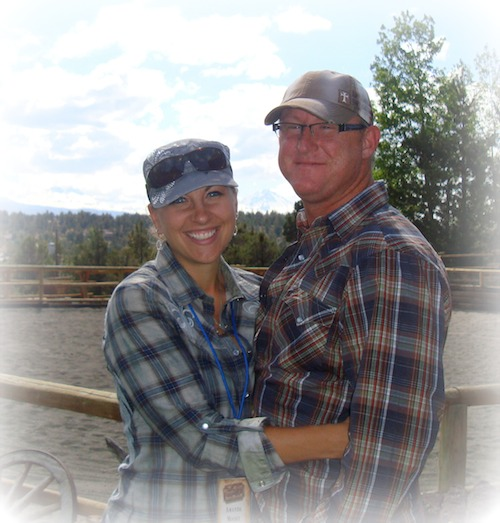 Amanda and Christopher Moore - Founders of Reigning Grace Ranch