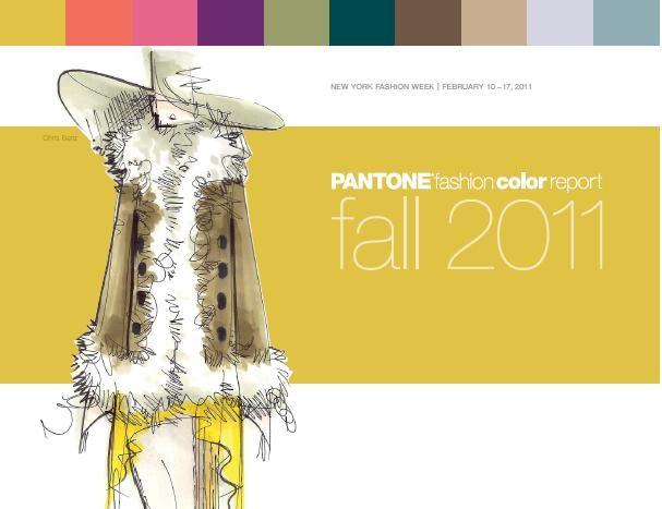 pantone fall 2011 cover