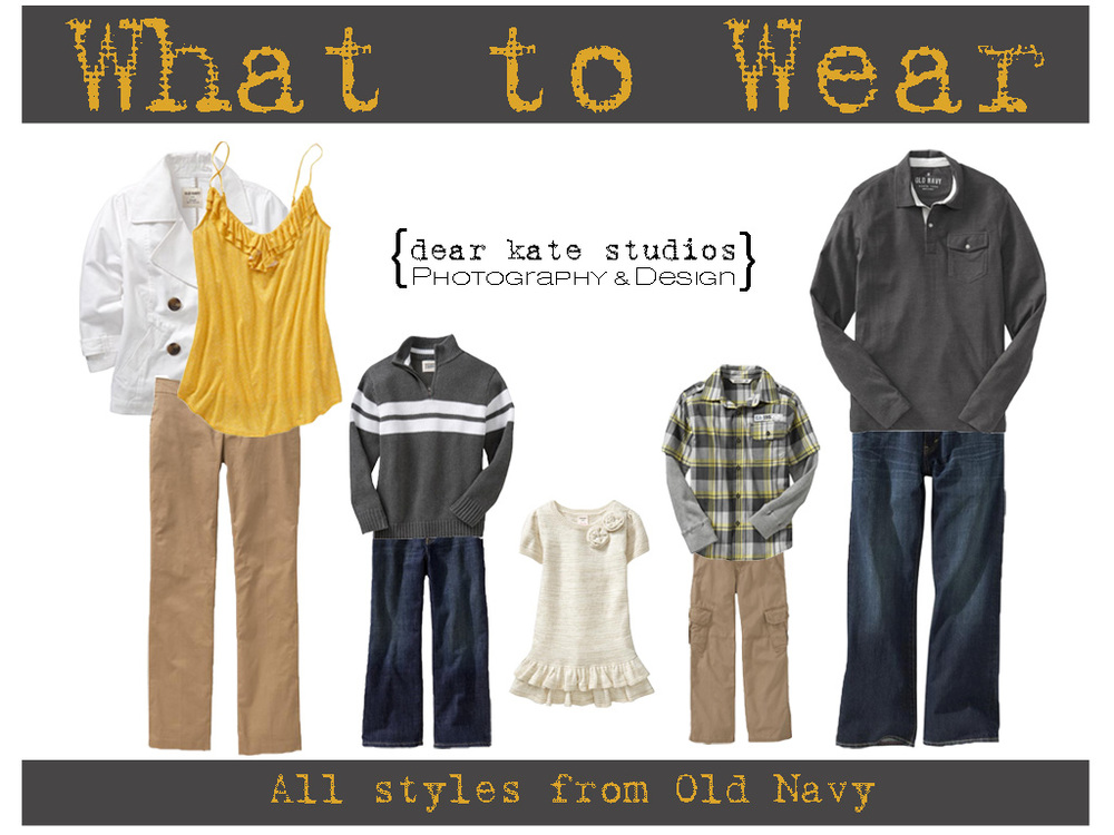 What to wear 10-5-11