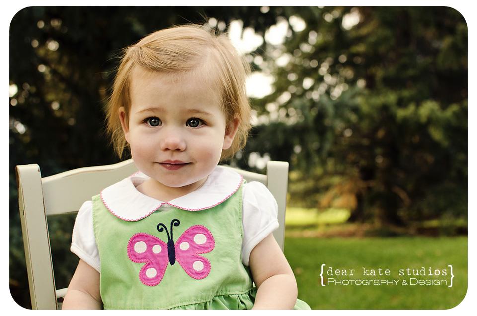 Fort Collins Children's Photographer Dear Kate