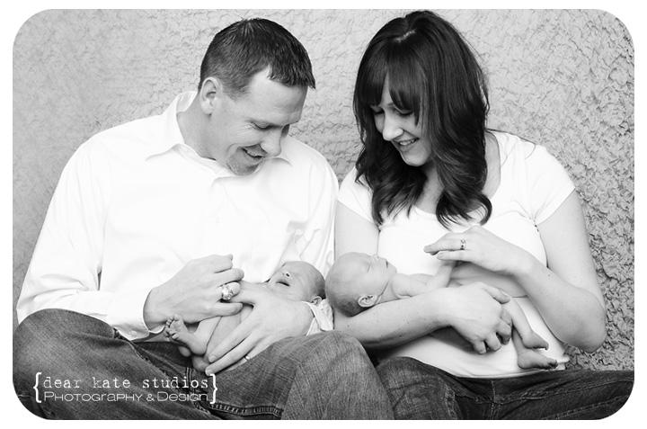 Northern Colorado Twin Newborn Photographer