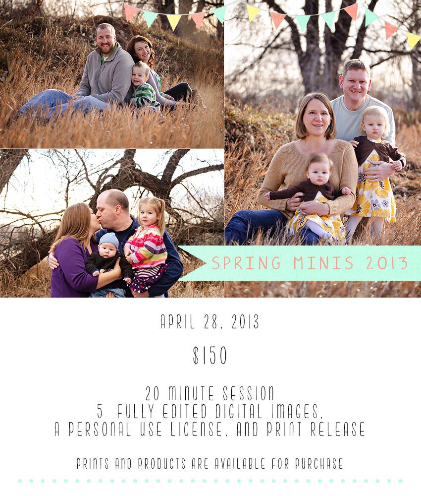 Loveland Spring Mini Sessions