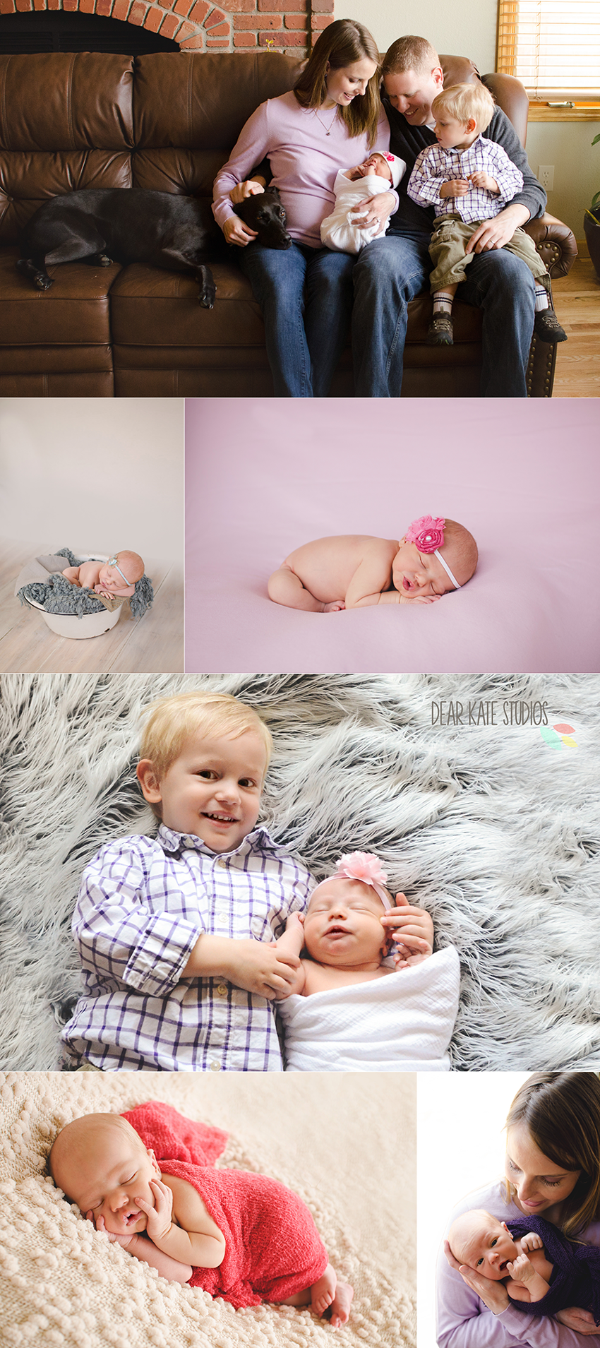 Fort Collins Newborn Baby and family photography in home