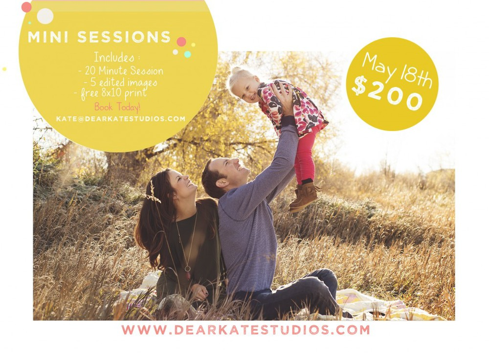 fort collins family spring mini sessions