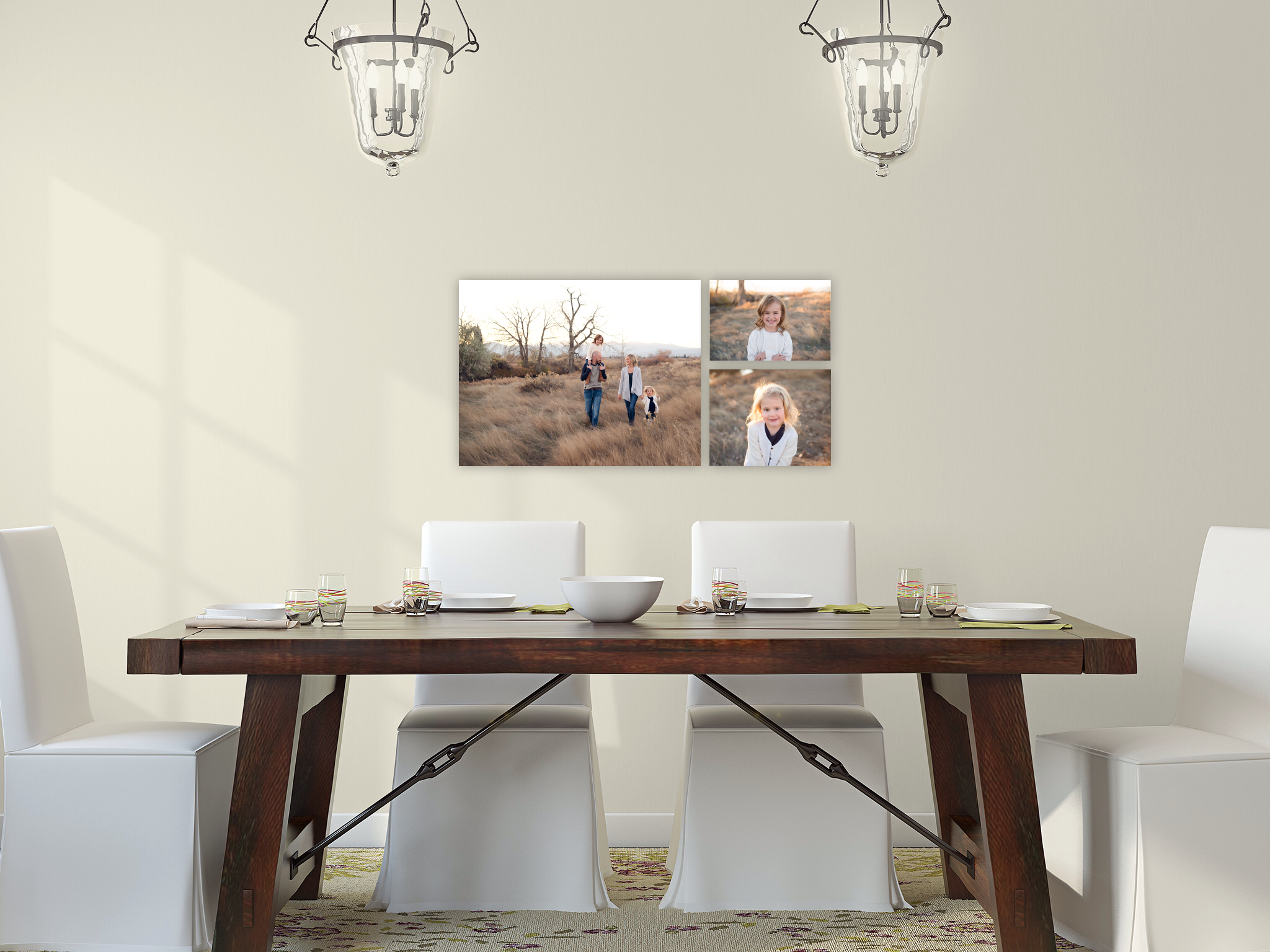 5 Beautiful Gallery Walls to Inspire You Print Your Family Portraits