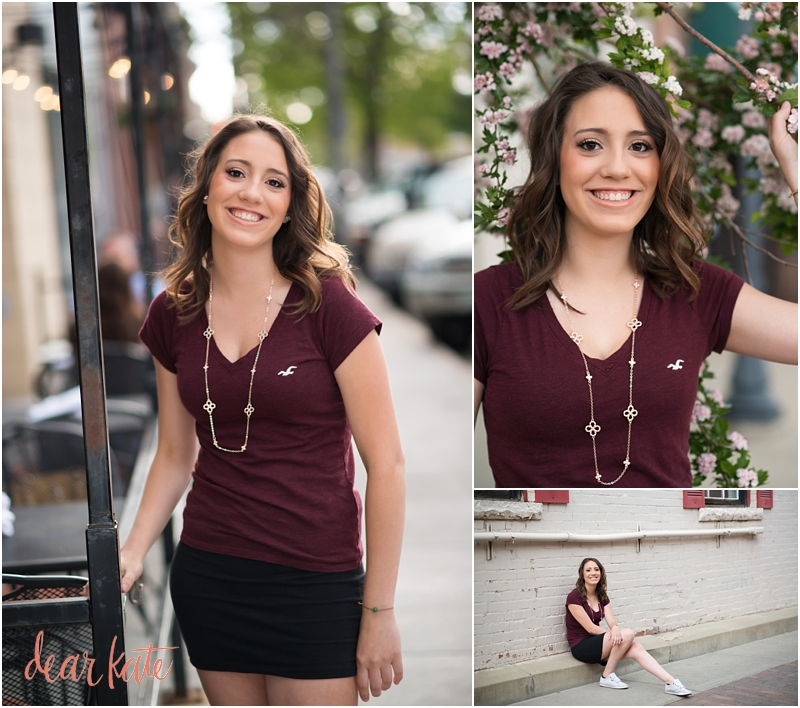 Fort collins urban senior pictures city downtown vibes