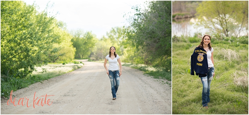 FFA Senior pictures fort collins CO Natural