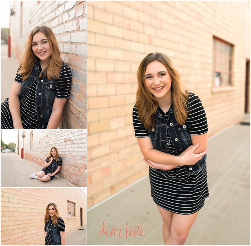 Loveland Senior Photographer Urban downtown pictures