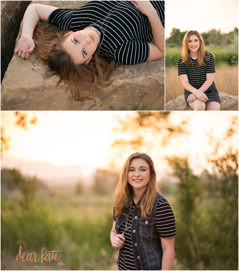 Loveland Outdoor Senior Pictures Mountains