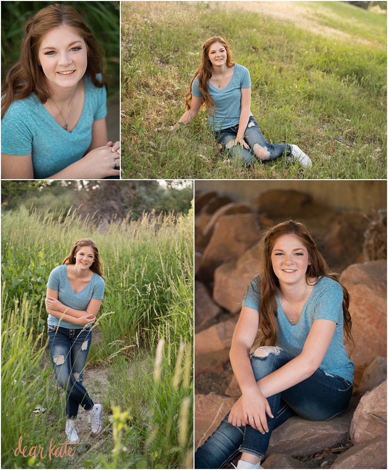 Casual senior pictures Loveland CO
