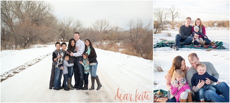 snowy family pictures loveland co