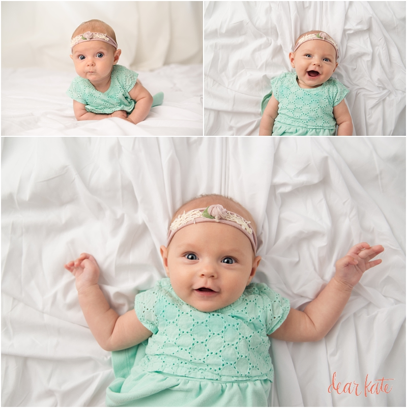 3 month old baby girl portraits Loveland CO
