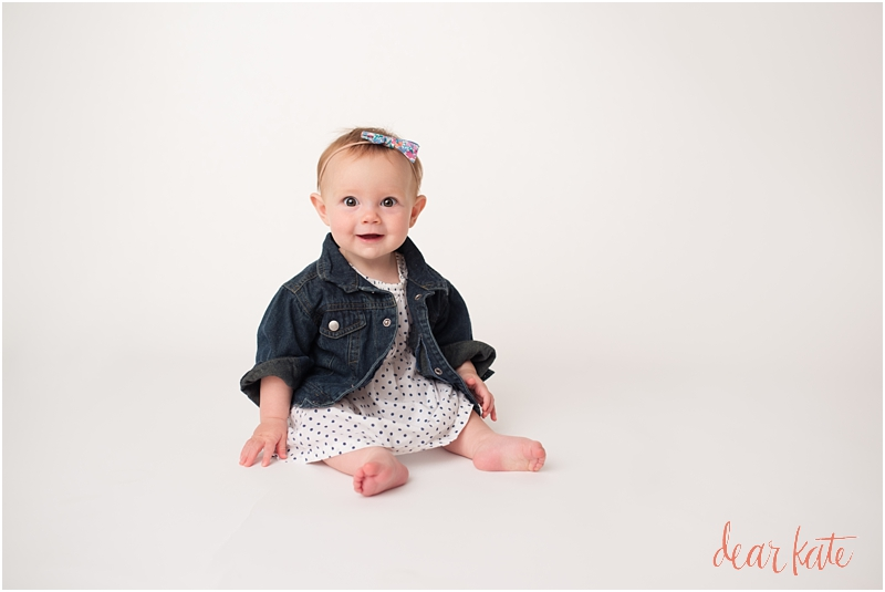 Loveland 6 month pictures baby photographer