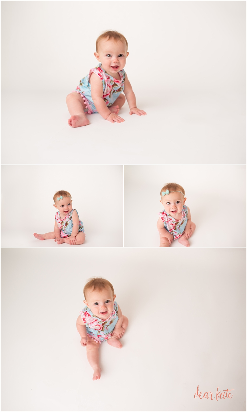 Six month 6 month baby girl pictures Loveland CO  Dear Kate Studios
