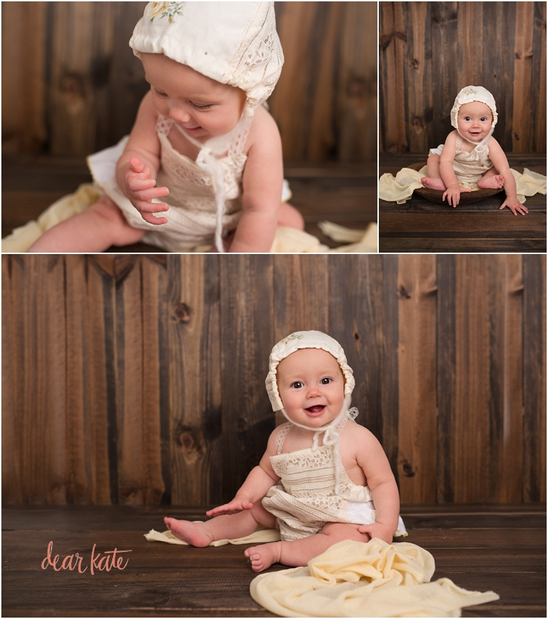 Loveland Baby girl 6 months old pictures Baby Photographer
