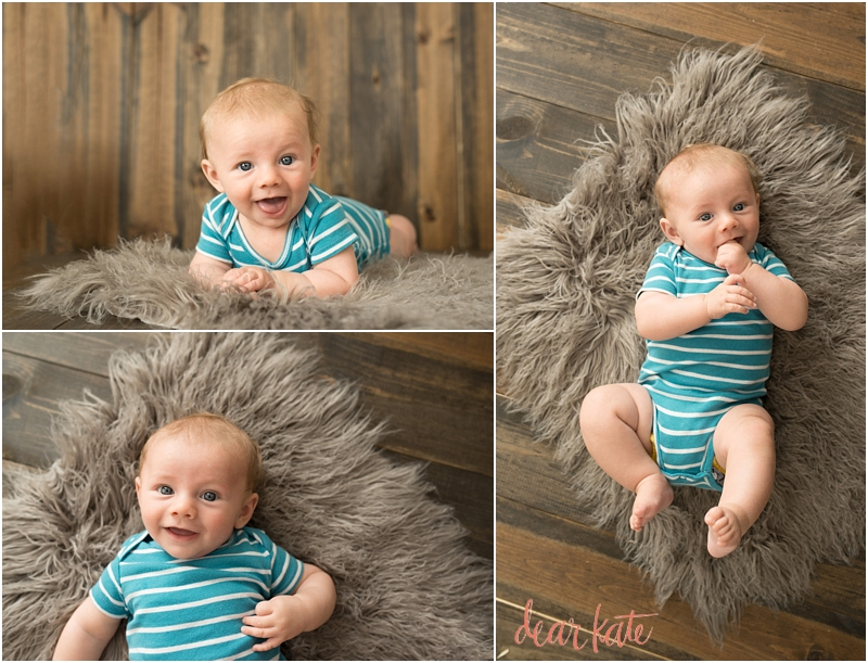 Loveland Baby pictures three month old baby Dear Kate Studios