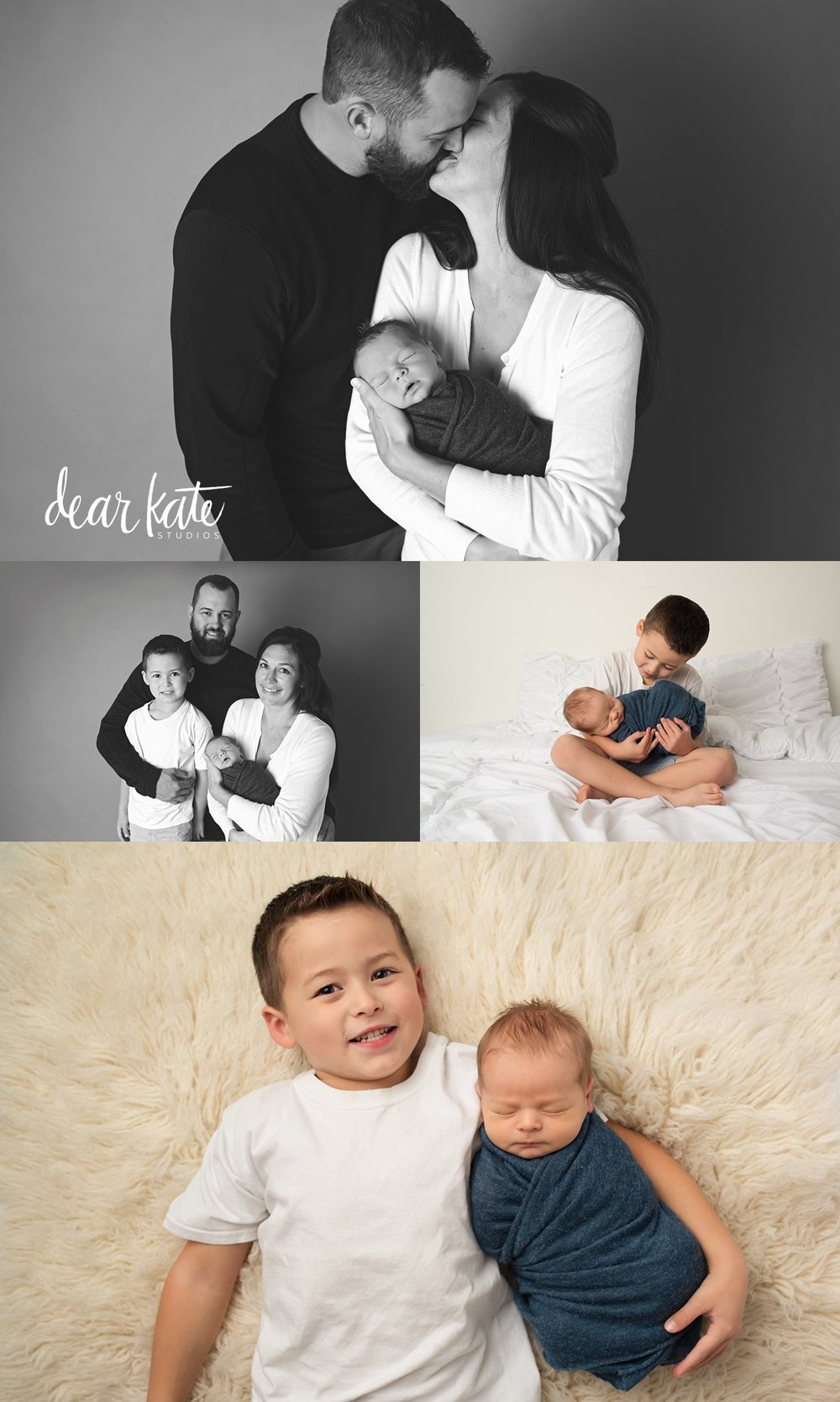 loveland newborn photography studio family and sibling pictures