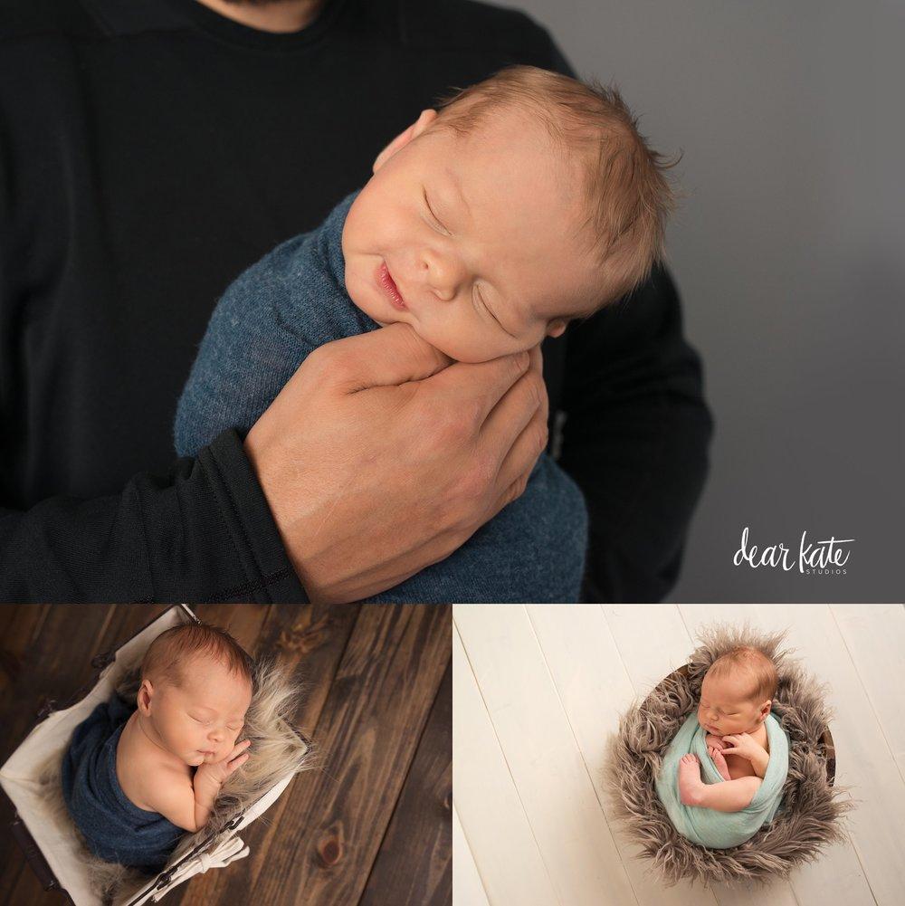 loveland newborn baby smile