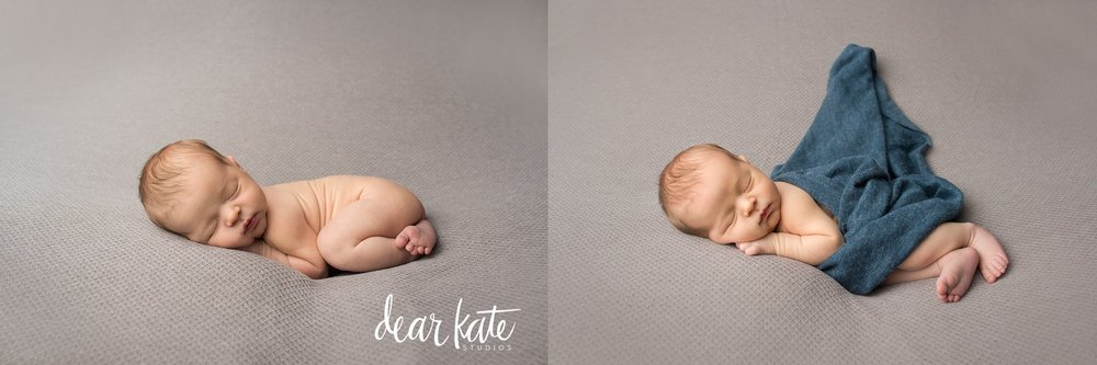 Simple natural posed newborn photography loveland studio