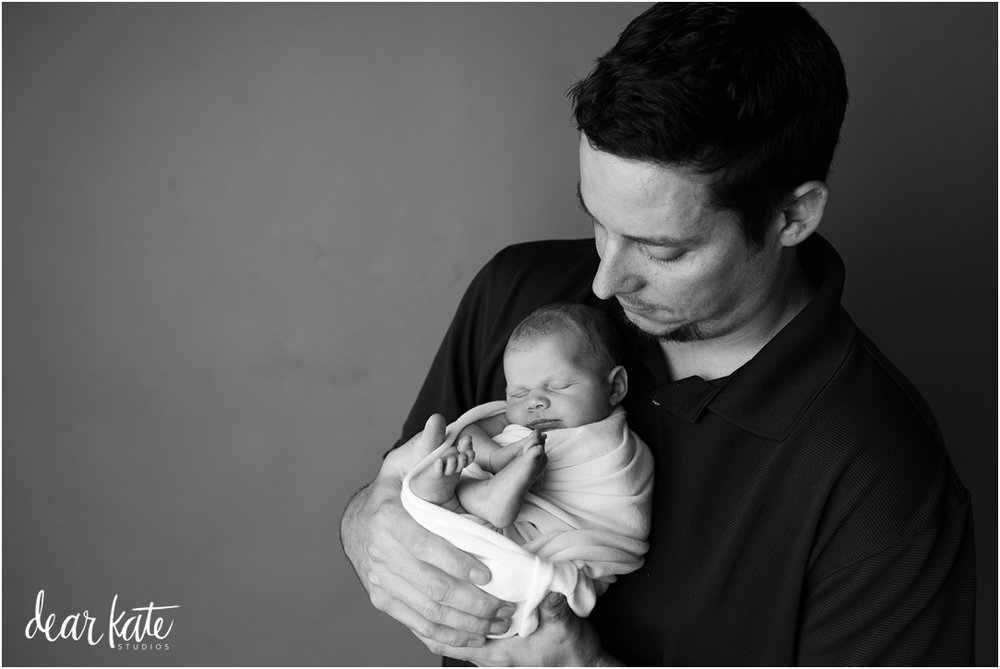 fort collins newborn photographer best of 2016 dad and baby.jpg