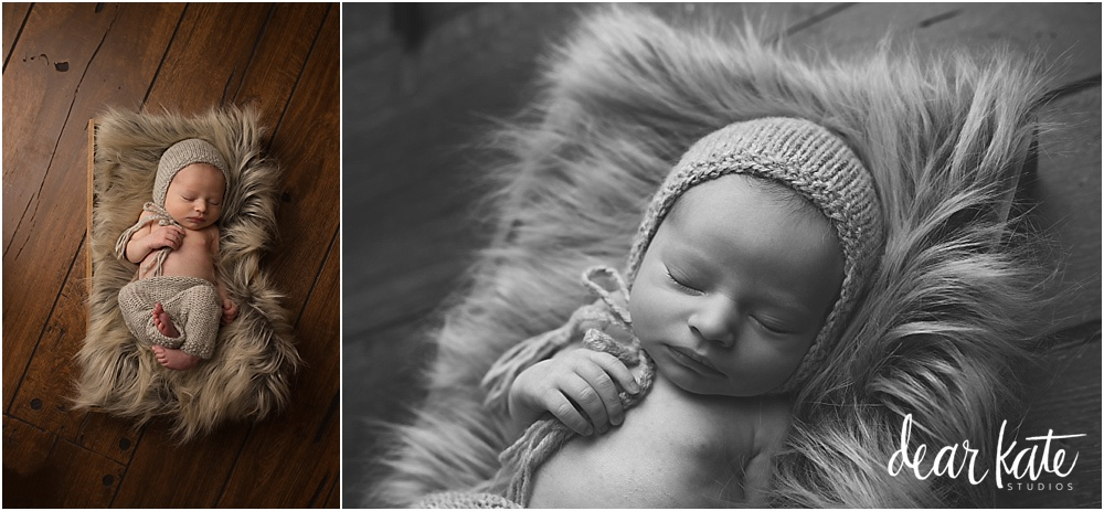Simple black and white newborn pictures fort collins