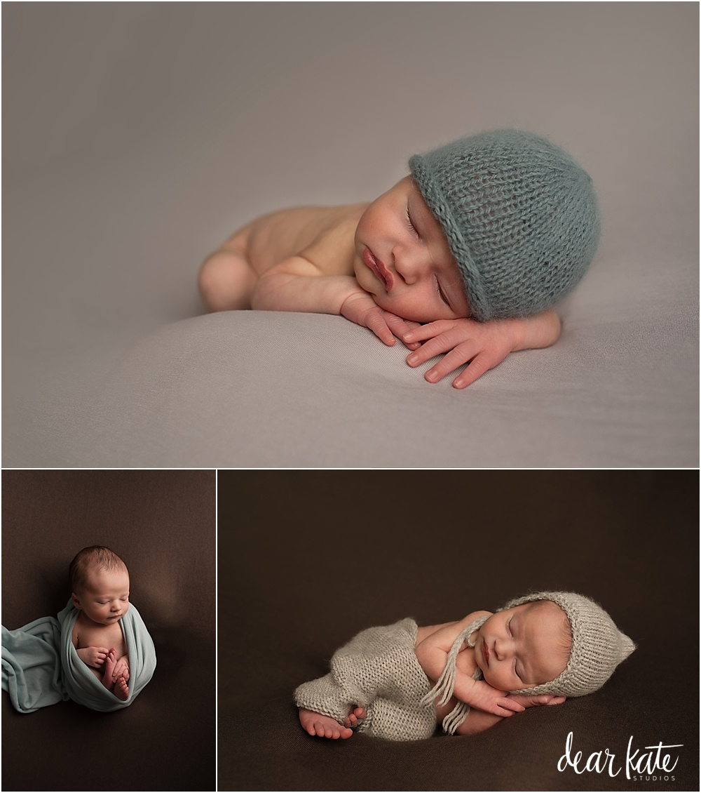 Classic simple posed newborn pictures fort collins colorado