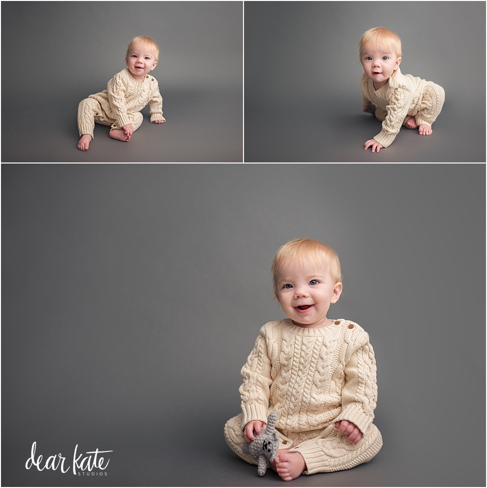 Simple classic baby pictures fort collins colorado photography studio
