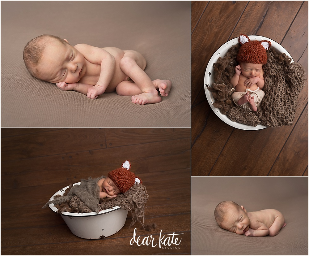 Simple timeless newborn infant pictures windsor colorado