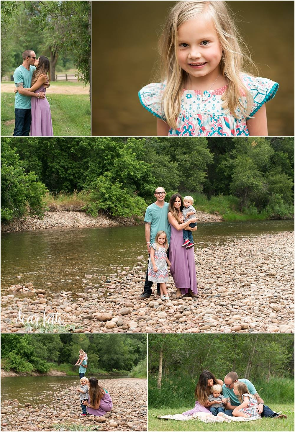 Family summer photography in fort collins colorado