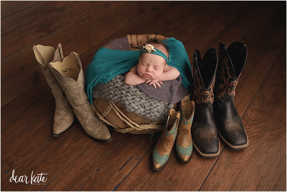 baby girl with cowboy boots northern colorado