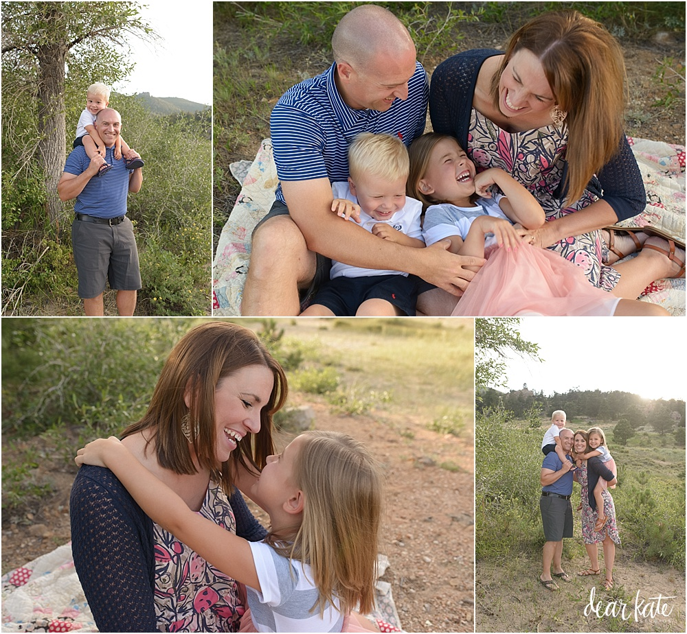 Candid natural family portraits fort collins